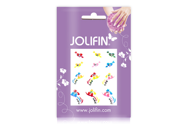 Jolifin Crazy Color Sticker 5