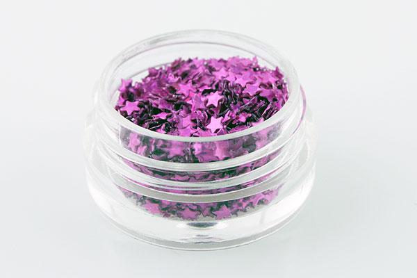 Jolifin Sterne pink-violett