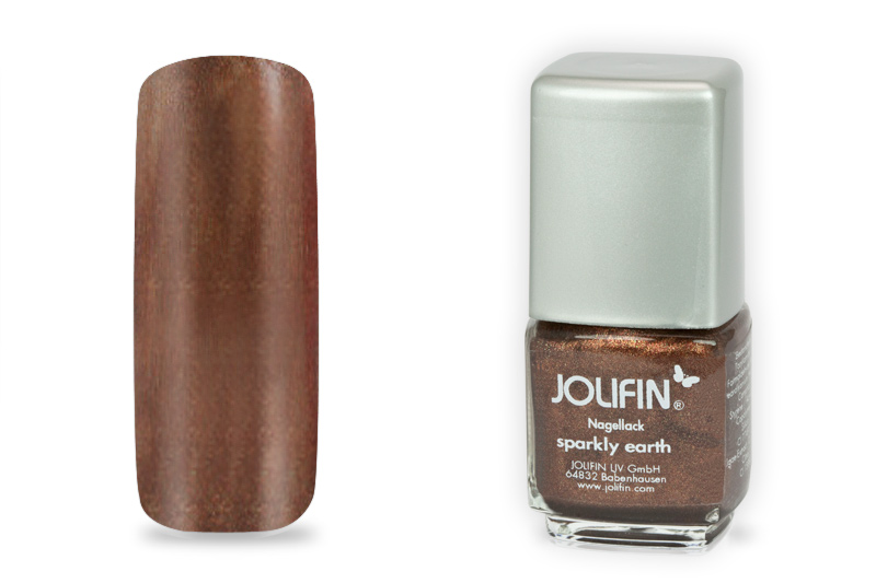 Jolifin Nagellack sparkly earth 12ml