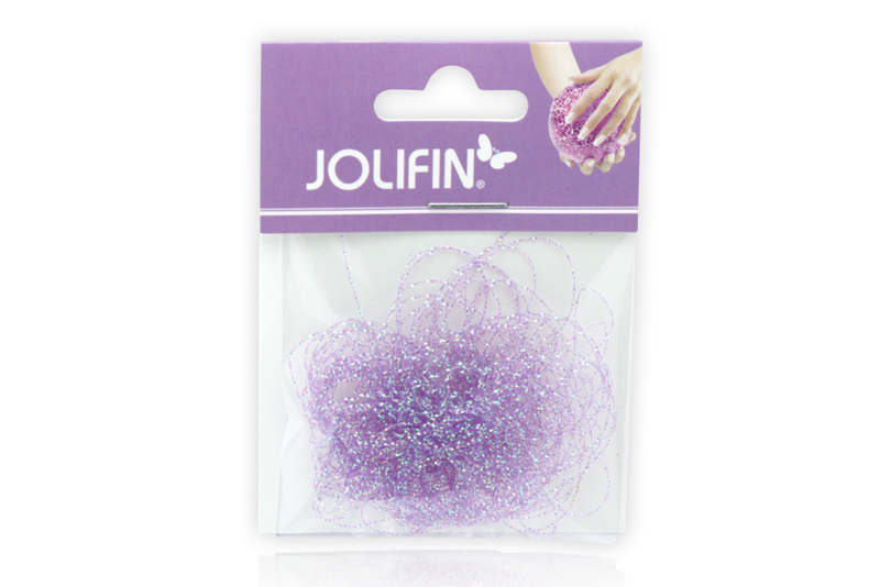 Jolifin Nailart Pearlstring lila