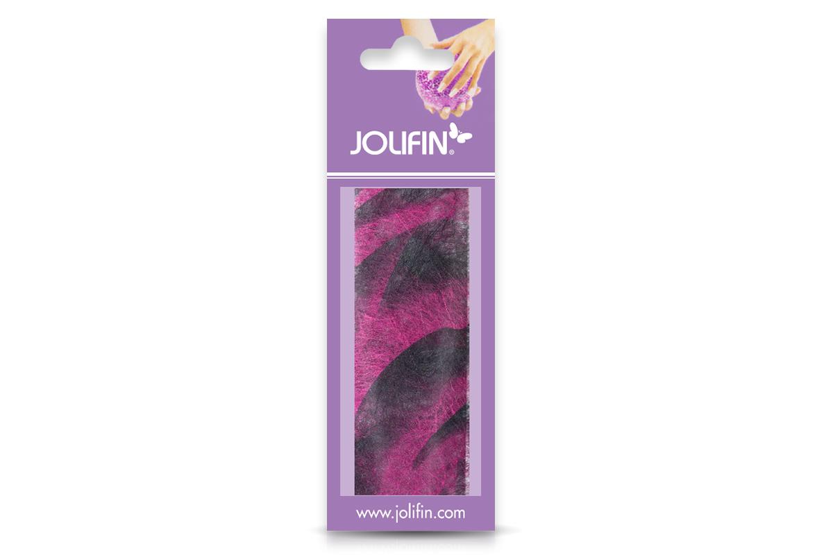 Jolifin Nailart colored fiber pink