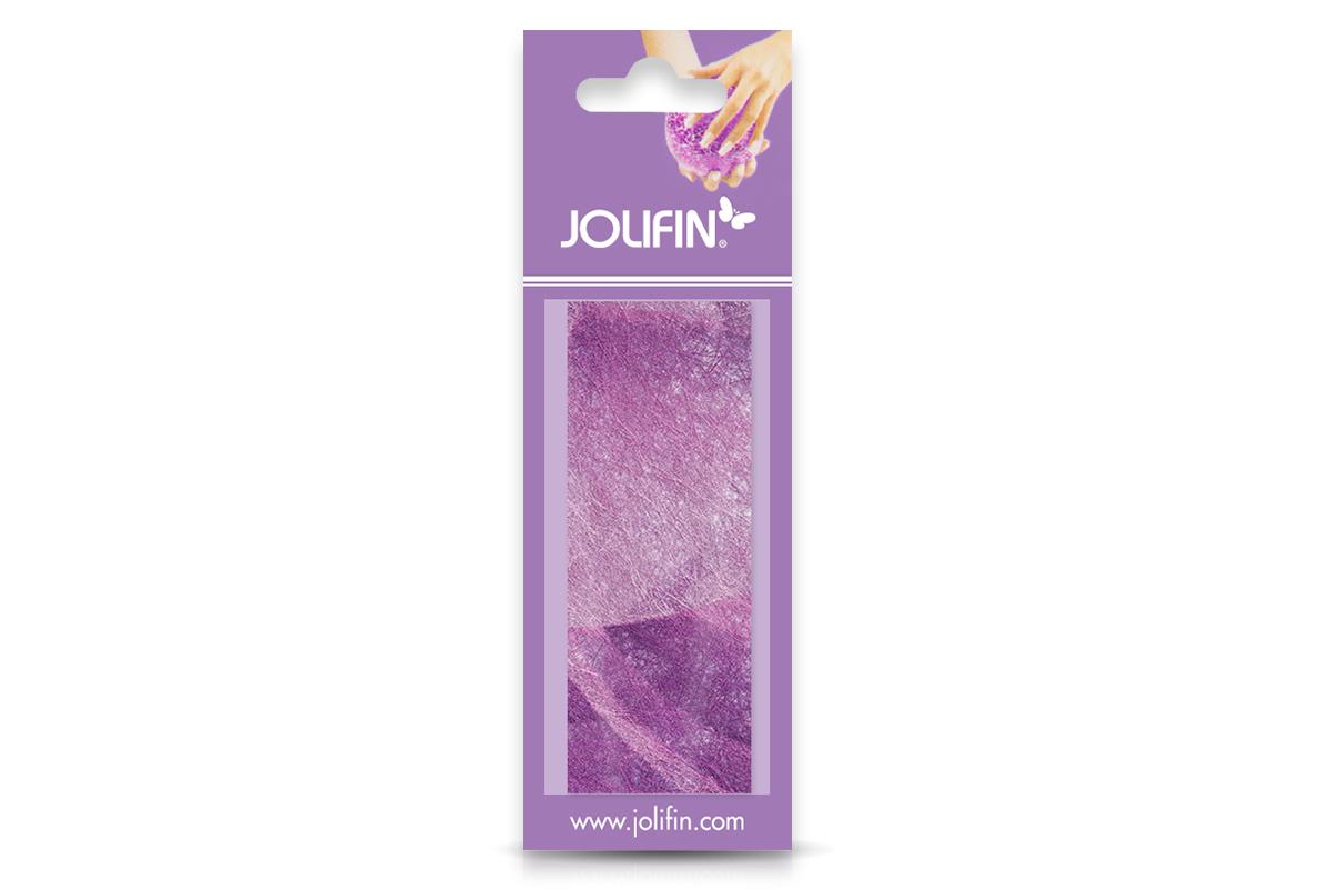Jolifin Nailart colored fiber purple