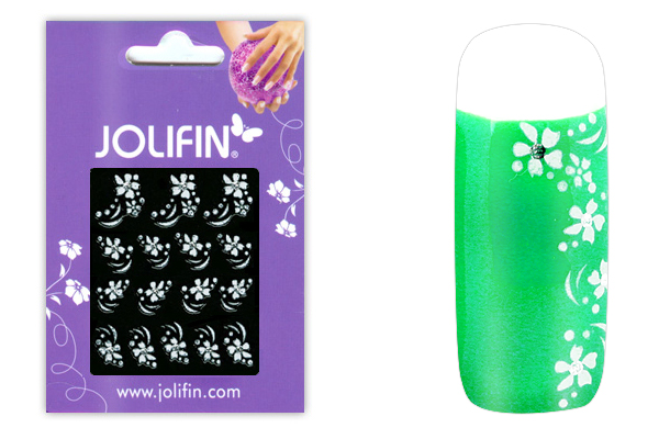 Jolifin Sparkling Crystal Nail-Sticker 3