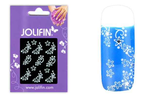 Jolifin Sparkling Crystal Nail-Sticker 5