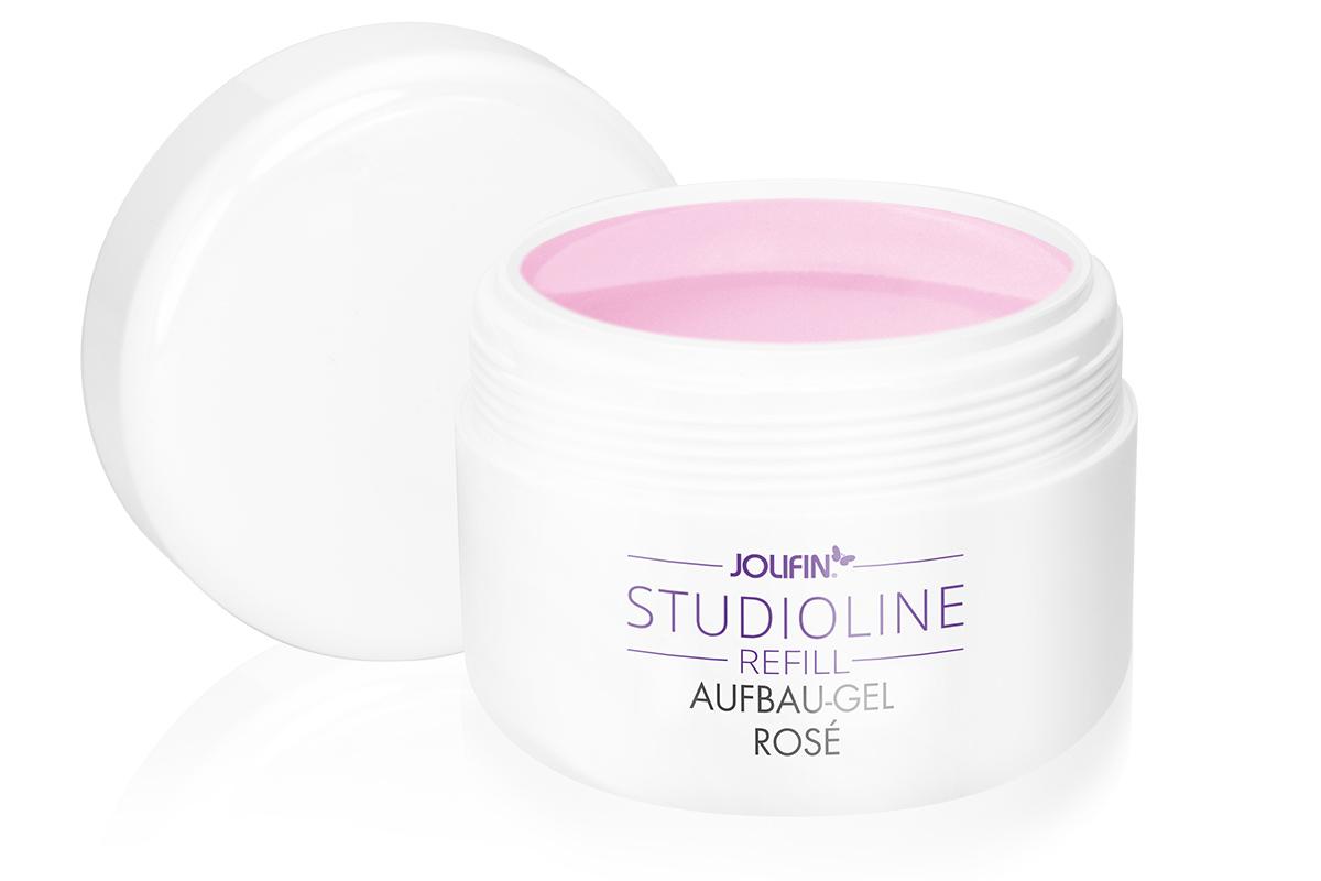 Jolifin Studioline Refill - Aufbau-Gel rosé 250ml