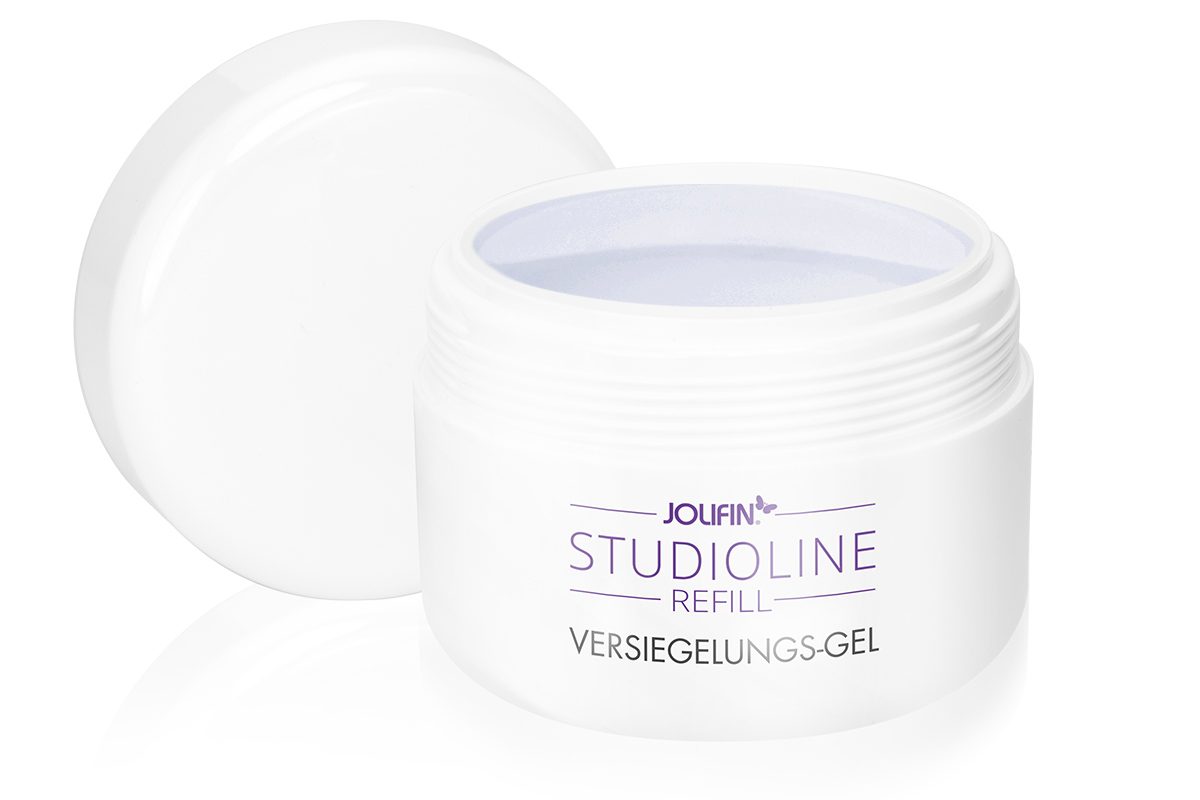 Jolifin Studioline Refill - Versiegelungs-Gel 250ml