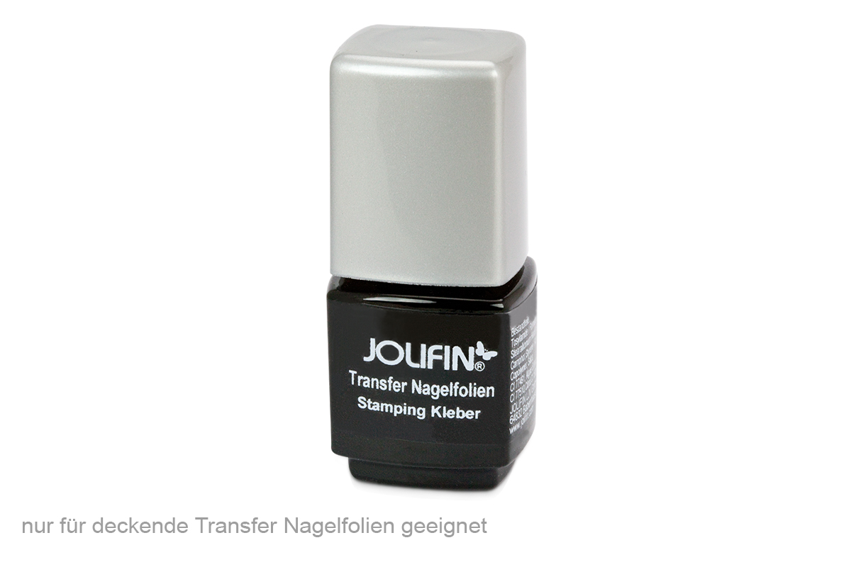 Jolifin Transfer Nagelfolien Stamping Kleber 12g
