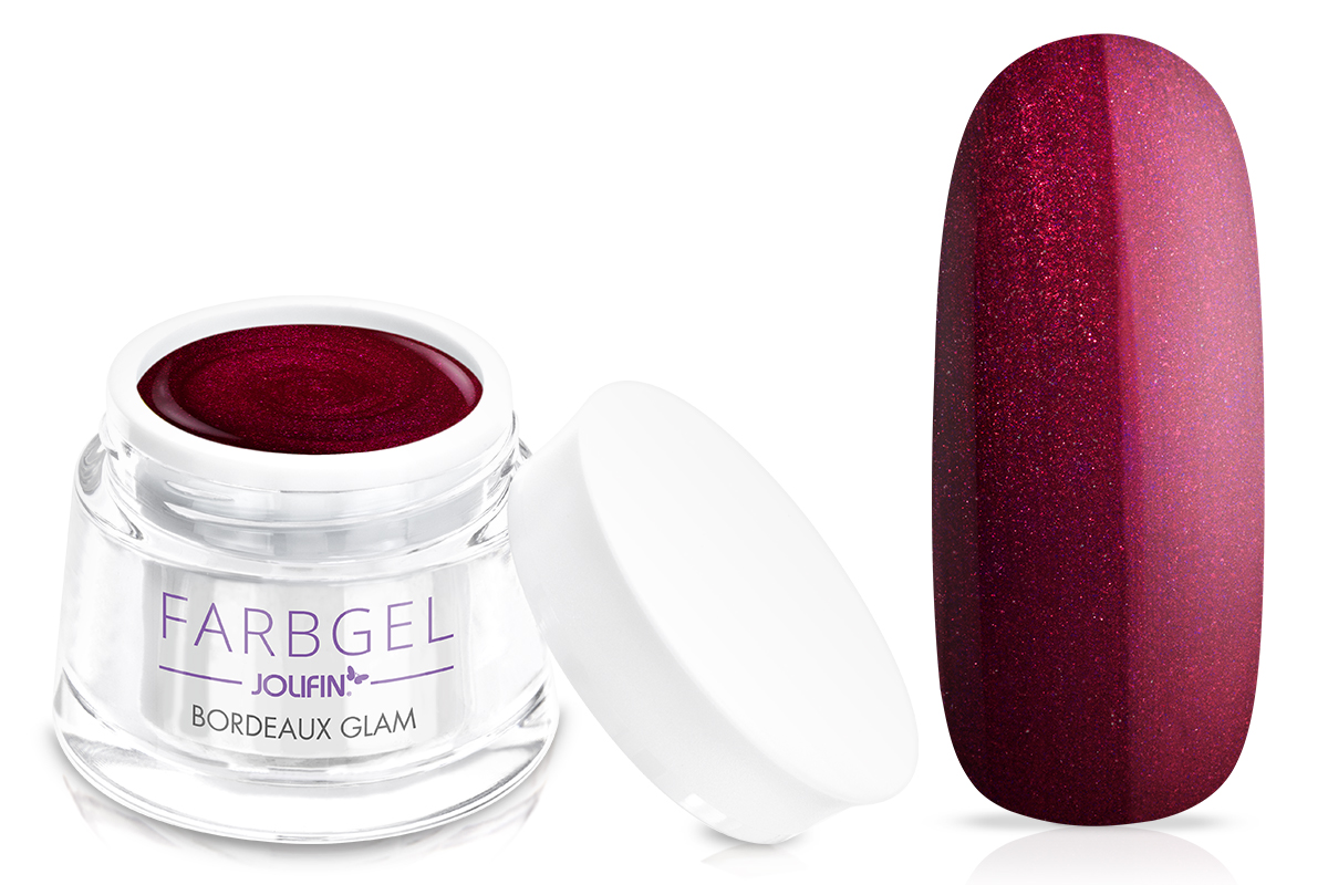 Jolifin Farbgel bordeaux glam 5ml
