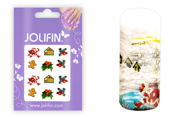 Jolifin X-Mas Nailart Tattoo Nr.11