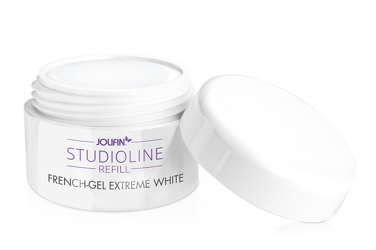 Jolifin Studioline Refill - French-Gel extreme-white 15ml
