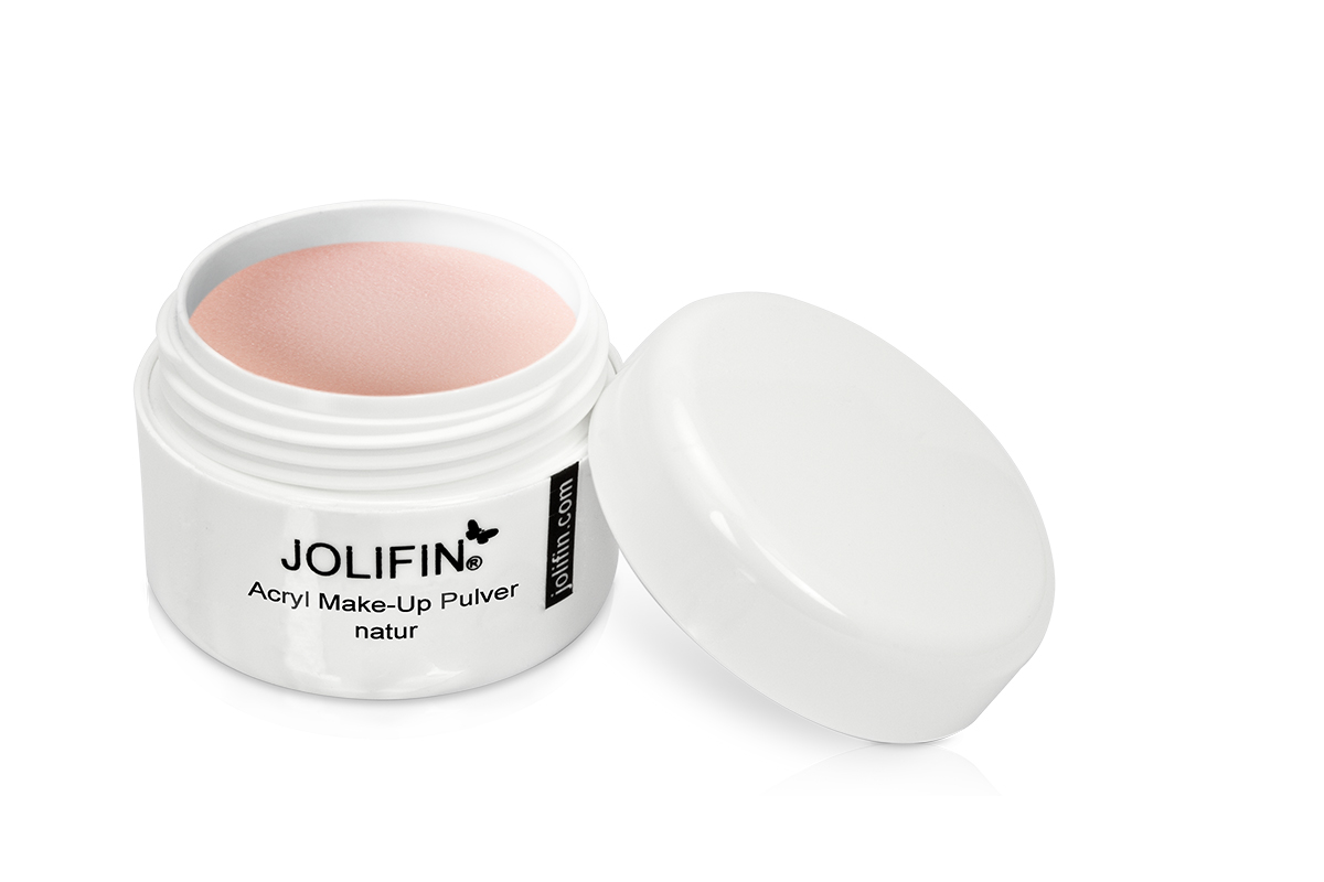Jolifin Acryl Pulver - Make-Up natur 10g