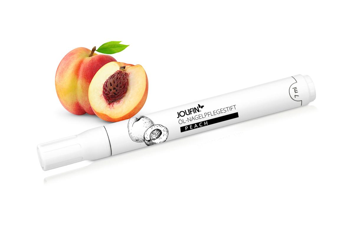 Jolifin Öl-Nagelpflegestift Peach 7ml