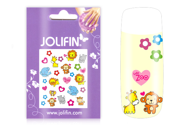 Jolifin Girlie Nailart Sticker Nr.1