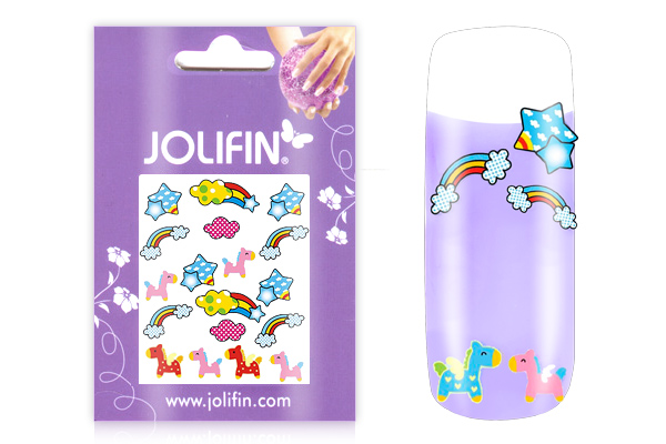 Jolifin Girlie Nailart Sticker Nr. 6