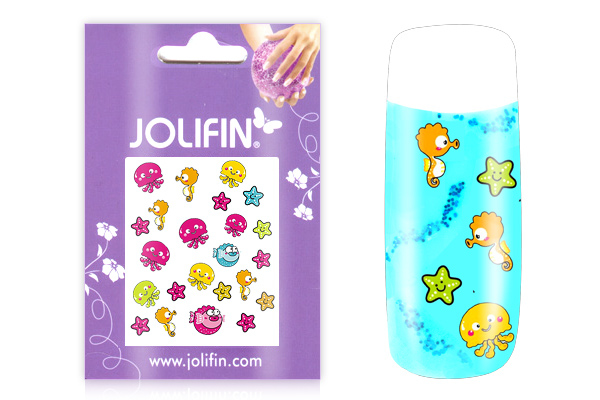 Jolifin Girlie Nailart Sticker Nr.7