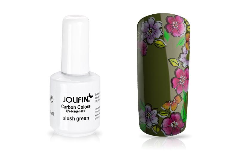 Jolifin Carbon Quick-Farbgel - slush green 11ml