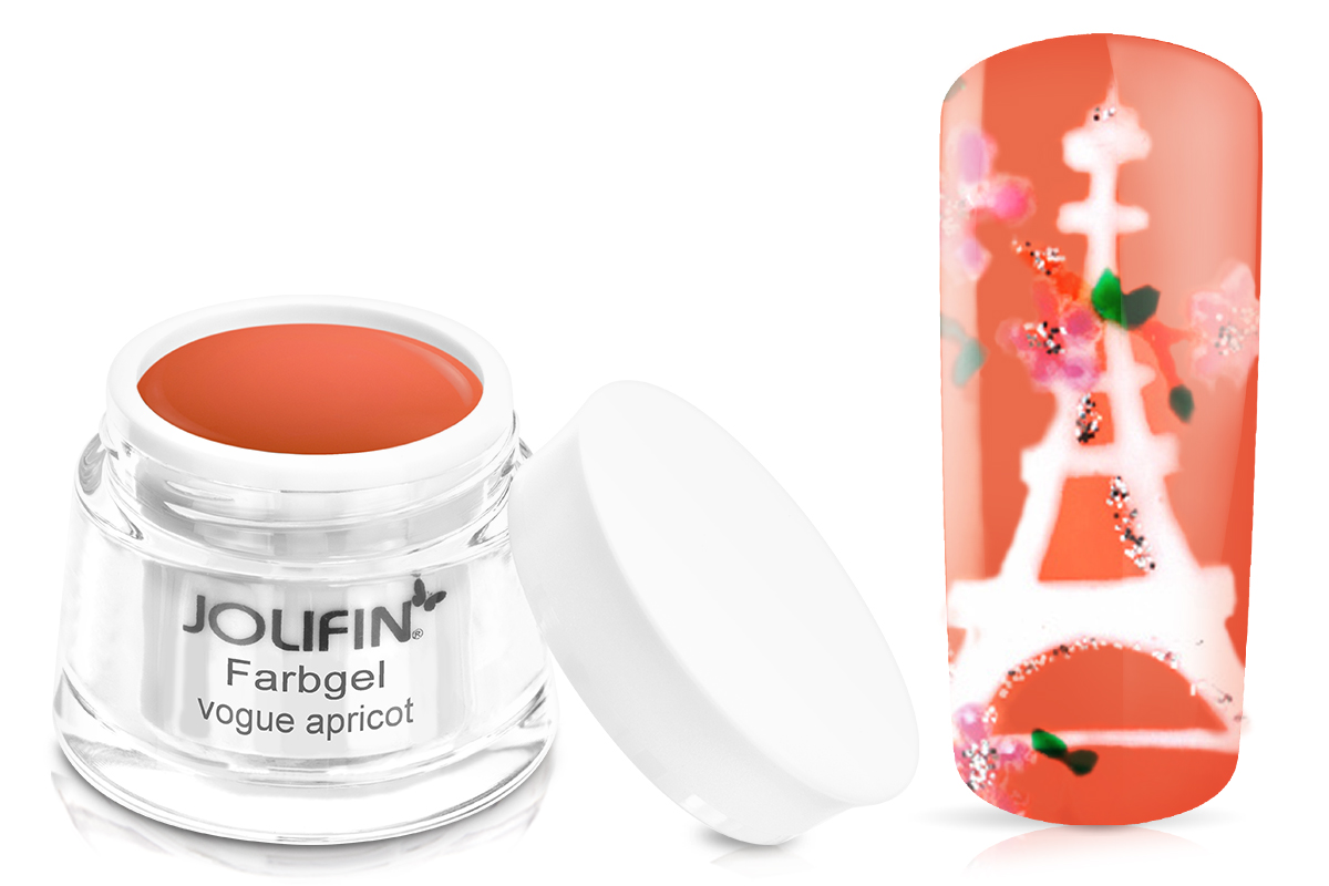 Jolifin Farbgel vogue apricot 5ml