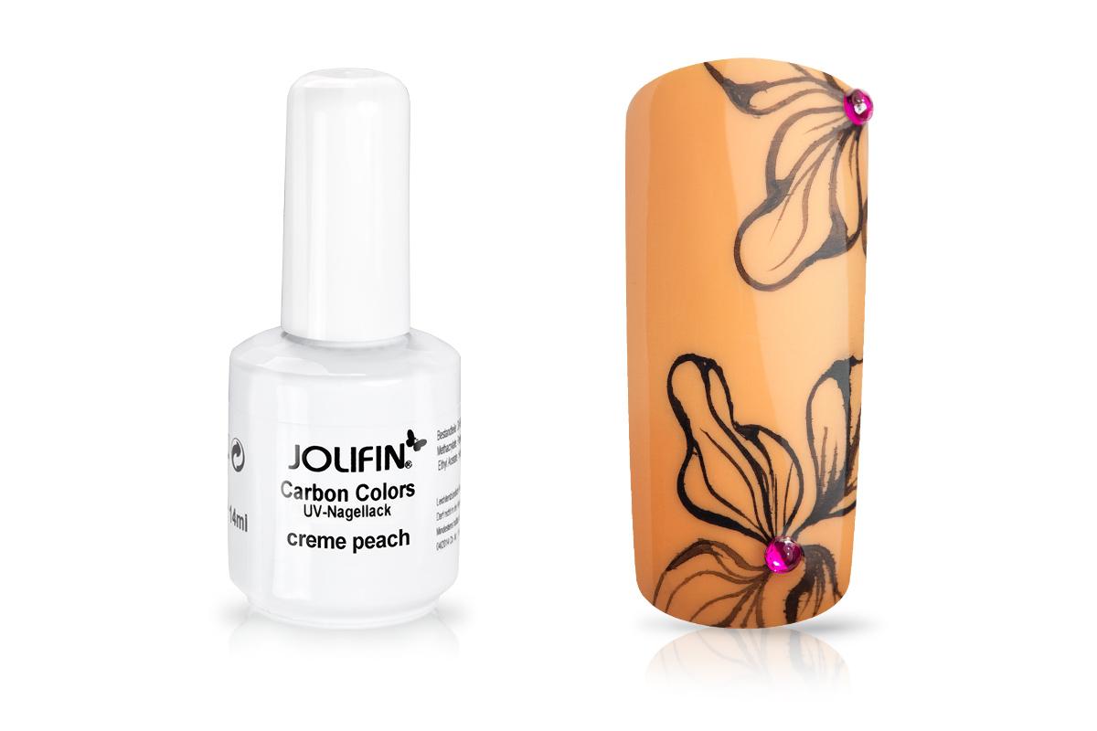 Jolifin Carbon Quick-Farbgel - creme peach 11ml