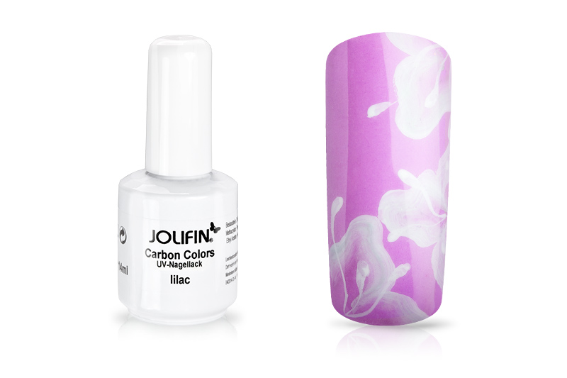 Jolifin Carbon Quick-Farbgel - lilac 11ml