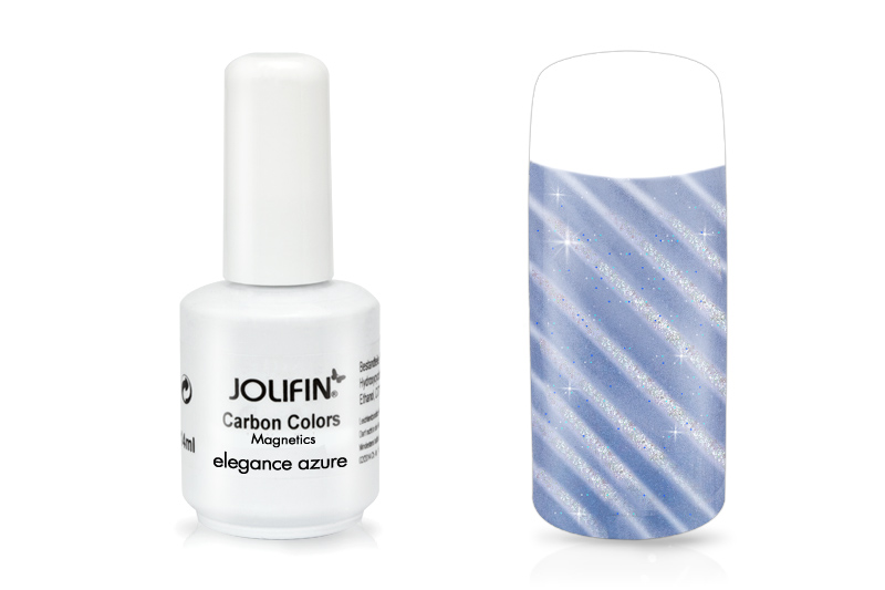 Jolifin Carbon Quick-Farbgel Magnetics elegance azure 14ml
