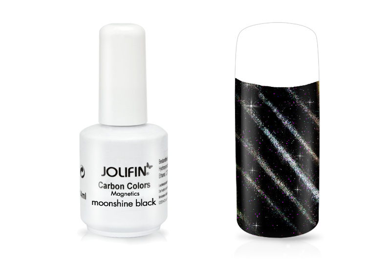 Jolifin Carbon Quick-Farbgel Magnetics moonshine black 11ml