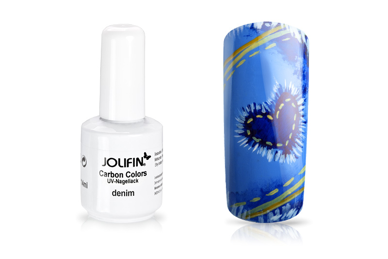 Jolifin Carbon Quick-Farbgel - denim 11ml