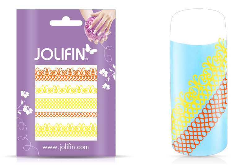 Jolifin Jolly Nailart Tattoo 2 yellow