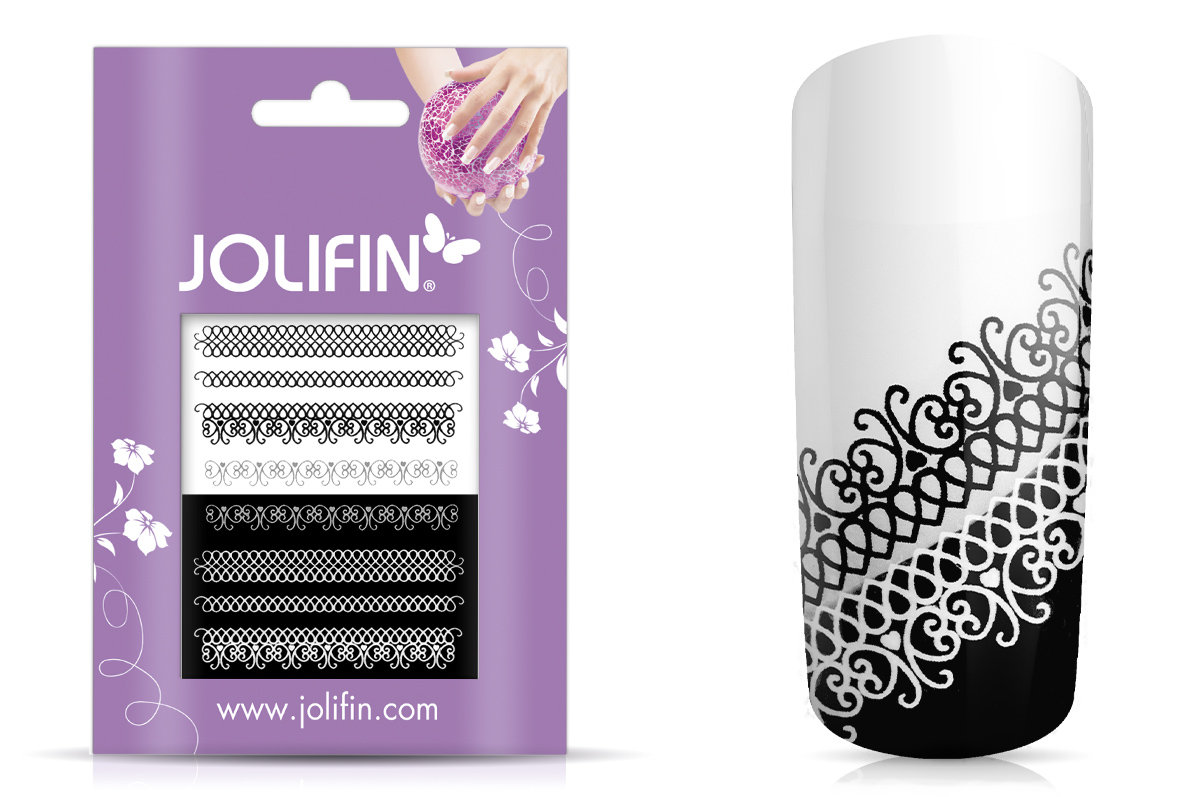 Jolifin Jolly Nailart Tattoo 2 black