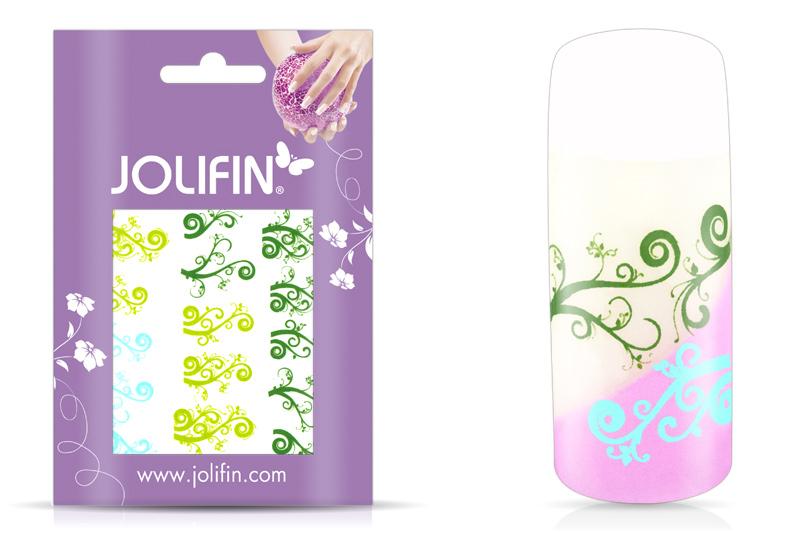 Jolifin Jolly Nailart Tattoo 3 green
