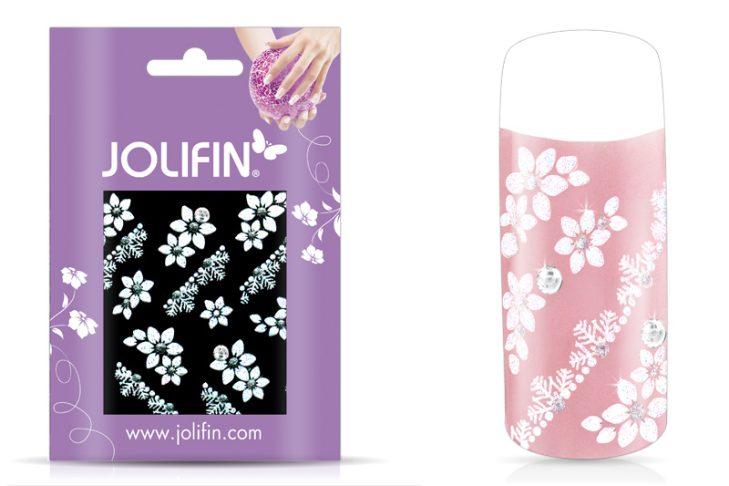 Jolifin Nailart Wedding Sticker Nr. 4