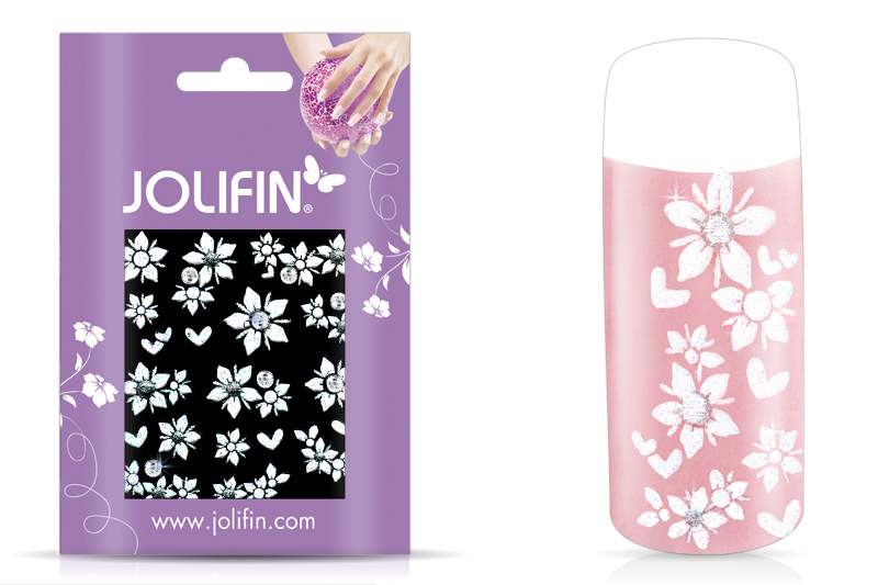 Jolifin Nailart Wedding Sticker Nr. 8