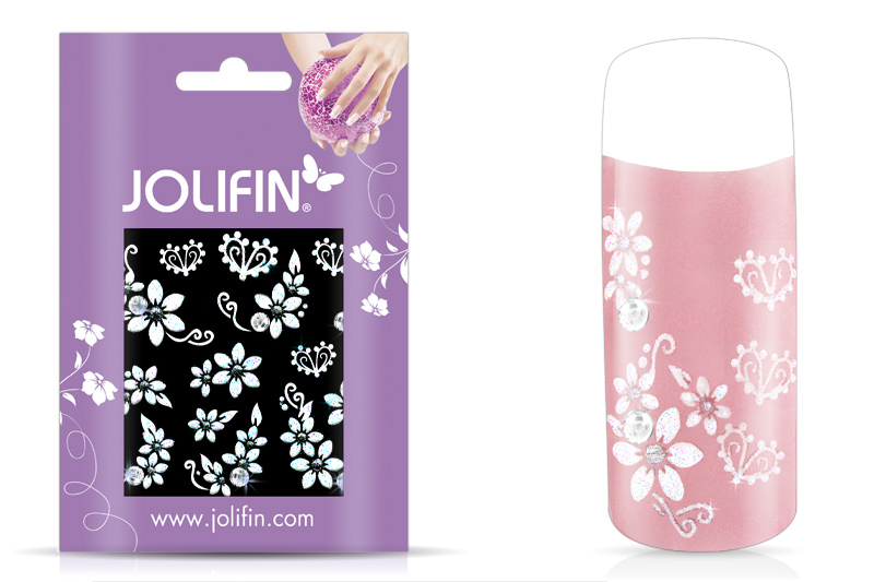 Jolifin Nailart Wedding Sticker Nr. 9