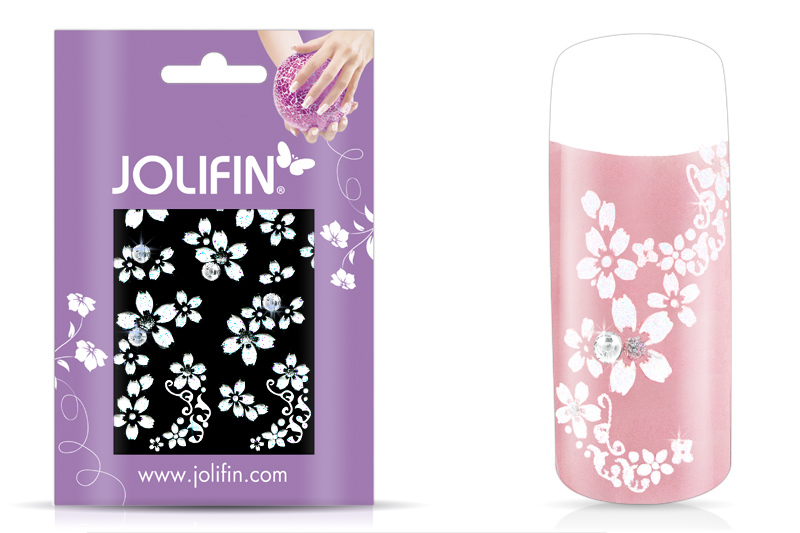 Jolifin Nailart Wedding Sticker Nr. 10