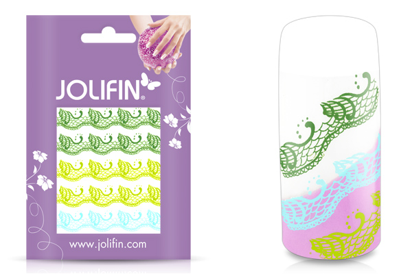 Jolifin Jolly Nailart Tattoo 5 green
