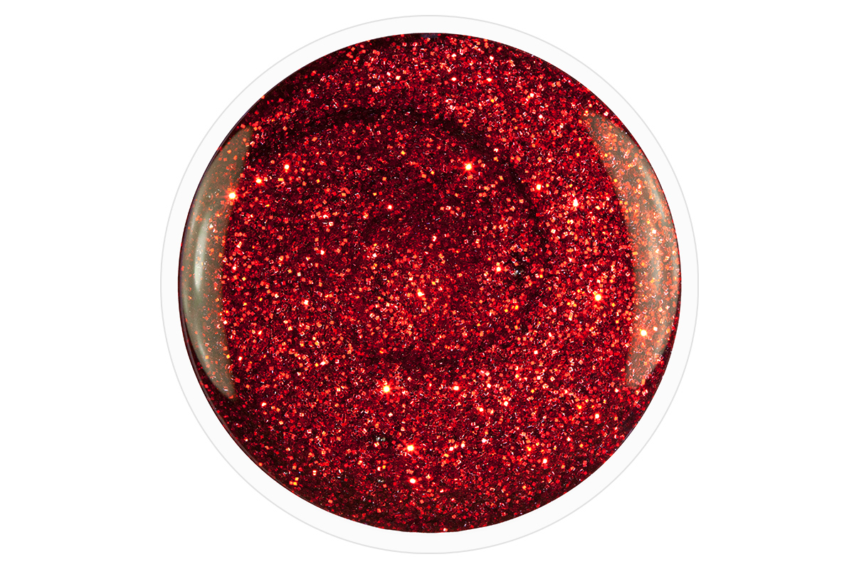 jolifin carbon colors uv nagellack red glitter 14ml pretty nail shop 24. Black Bedroom Furniture Sets. Home Design Ideas
