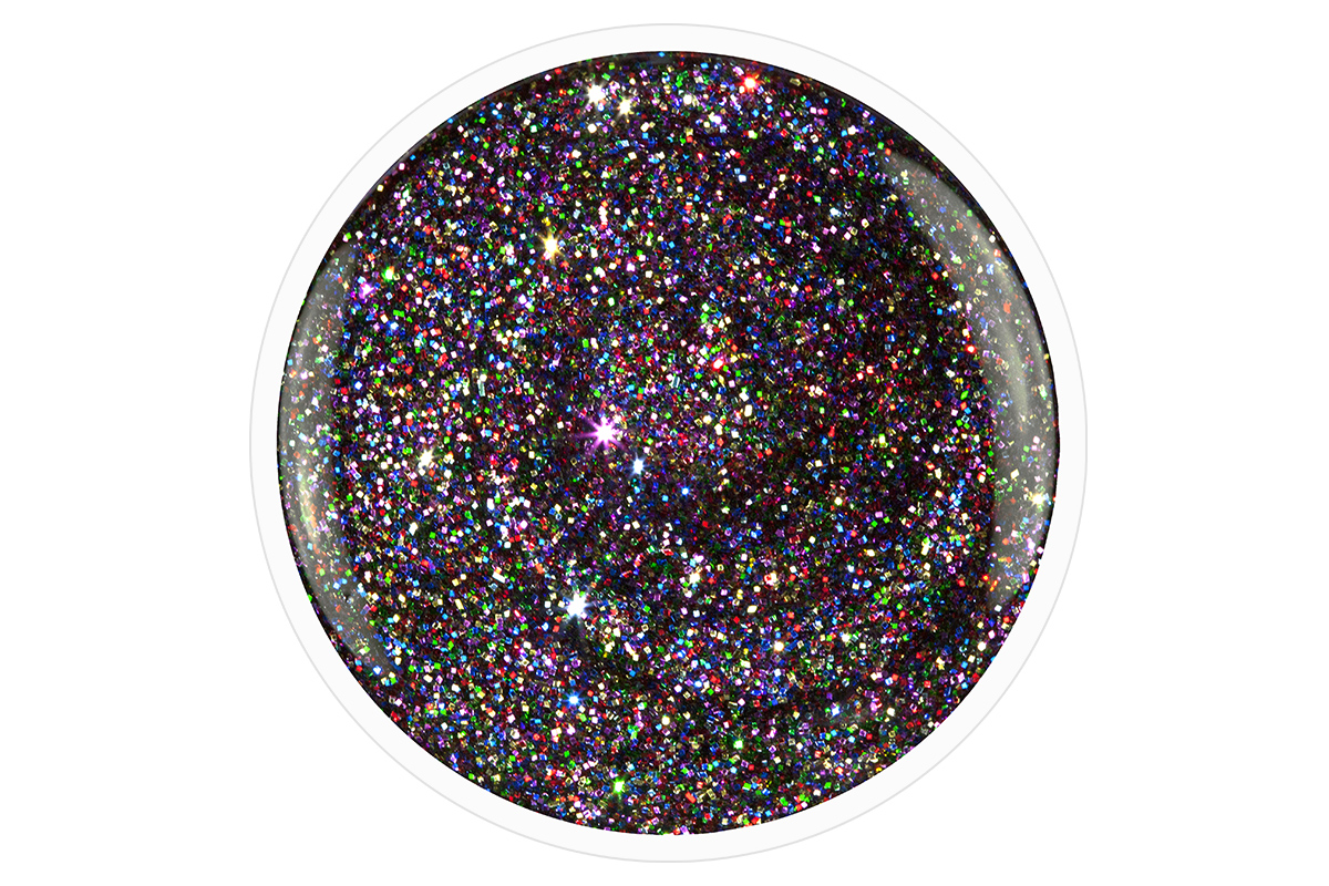 jolifin carbon colors uv nagellack rainbow glitter 14ml pretty nail shop 24. Black Bedroom Furniture Sets. Home Design Ideas