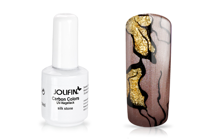 Jolifin Carbon Colors UV-Nagellack silk stone 11ml