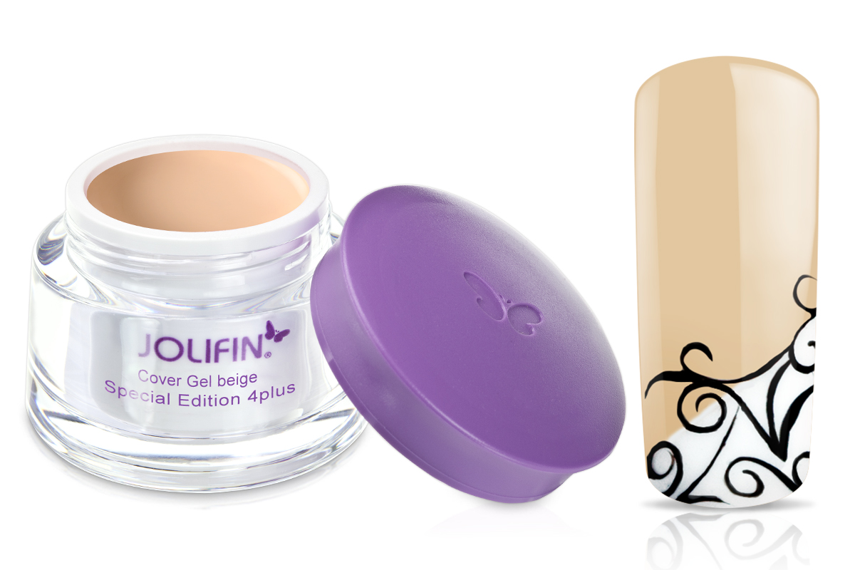 Jolifin Special Edition 4plus Make-Up Cover Gel beige 30ml