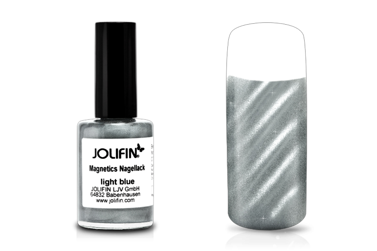 Jolifin Magnetics Nagellack light blue 14ml
