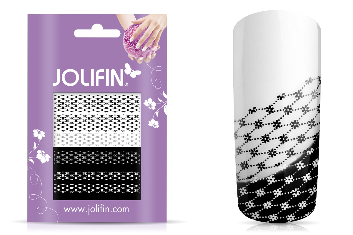 Jolifin Jolly Nailart Tattoo 10 black