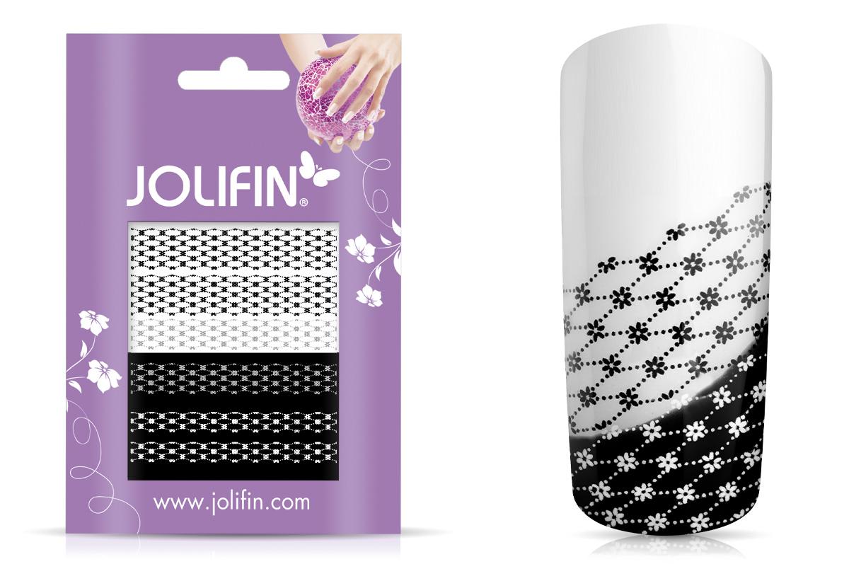 Jolifin Jolly Nailart Tattoo 10 black