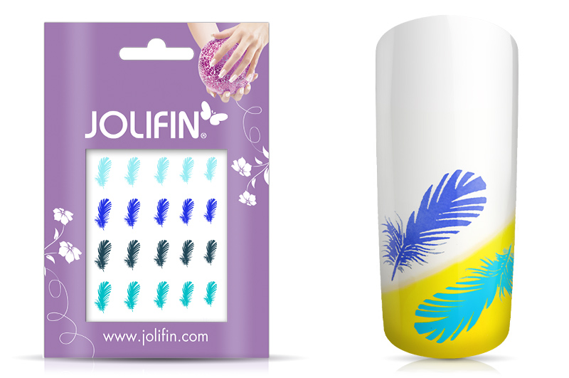Jolifin Jolly Nailart Tattoo 11 blue
