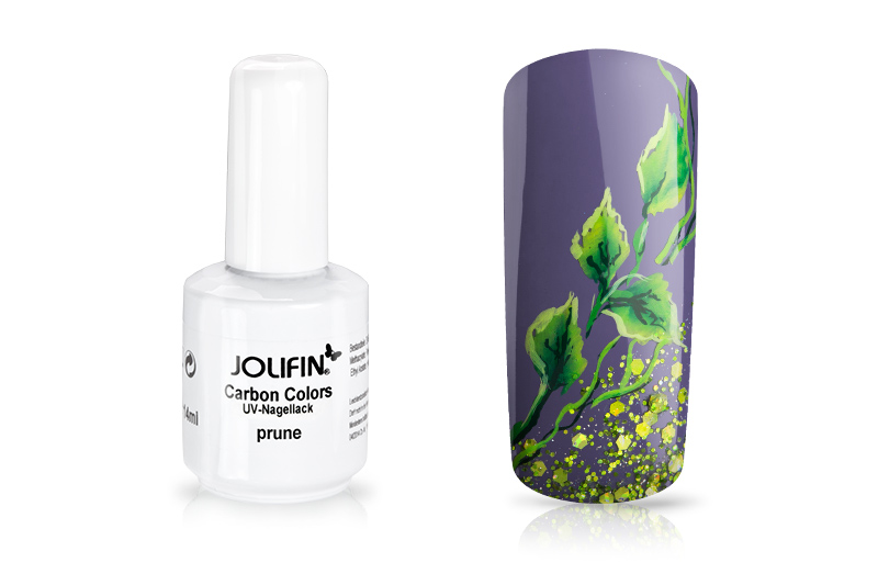 Jolifin Carbon Quick-Farbgel - prune 14ml