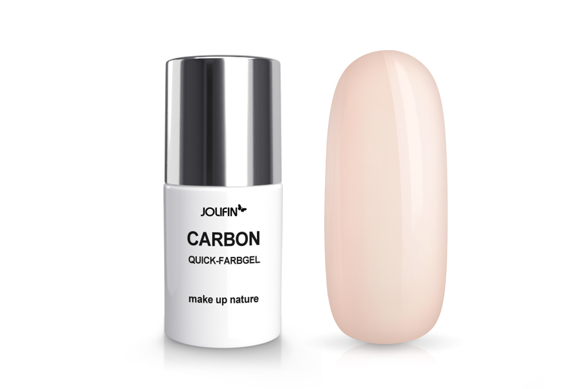 Jolifin Carbon Quick-Farbgel - make up nature 11ml
