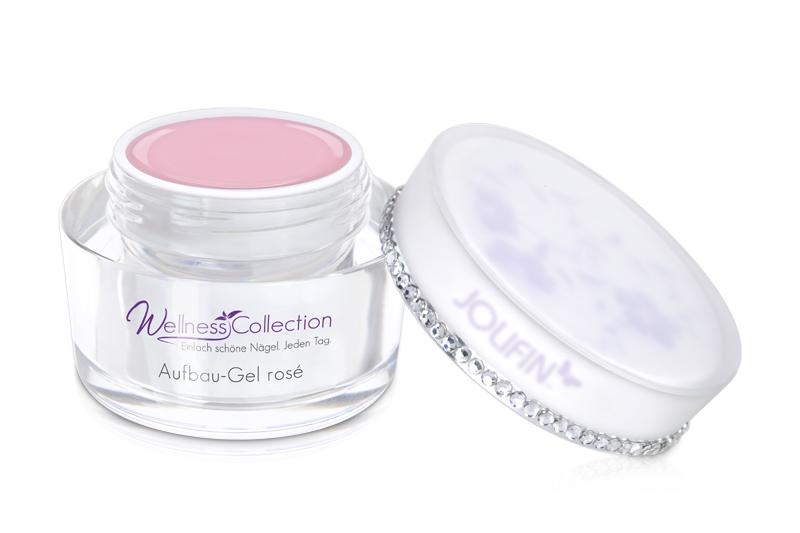 Jolifin Wellness Collection Aufbau-Gel rosé 15ml
