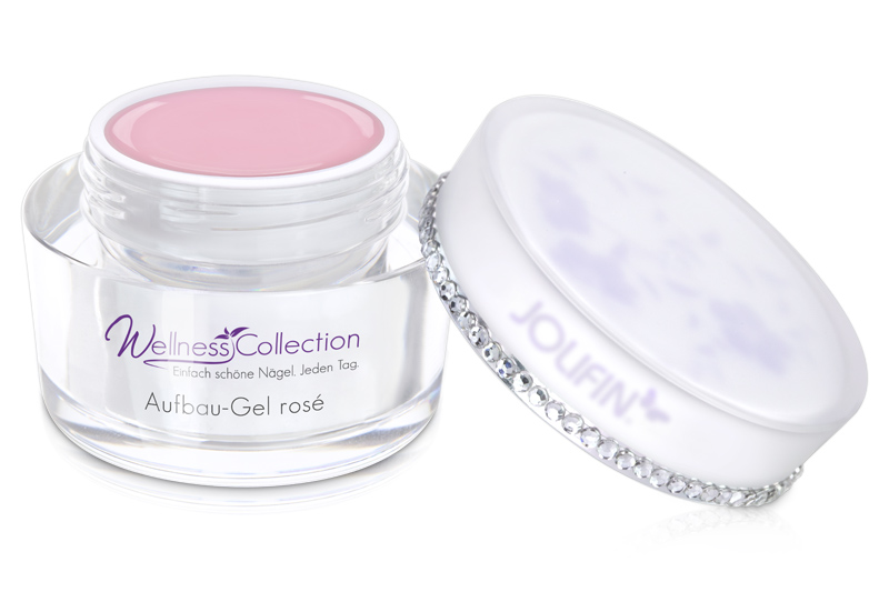 Jolifin Wellness Collection - Aufbau-Gel rosé 30ml