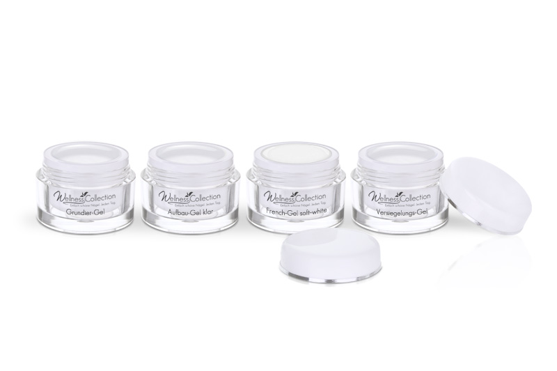 Aufbau klar, French soft-white - Jolifin Wellness Collection Probeset