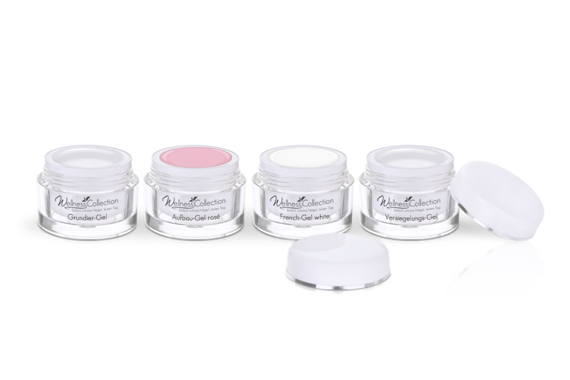 Aufbau rosé, French white - Jolifin Wellness Collection Probeset 3