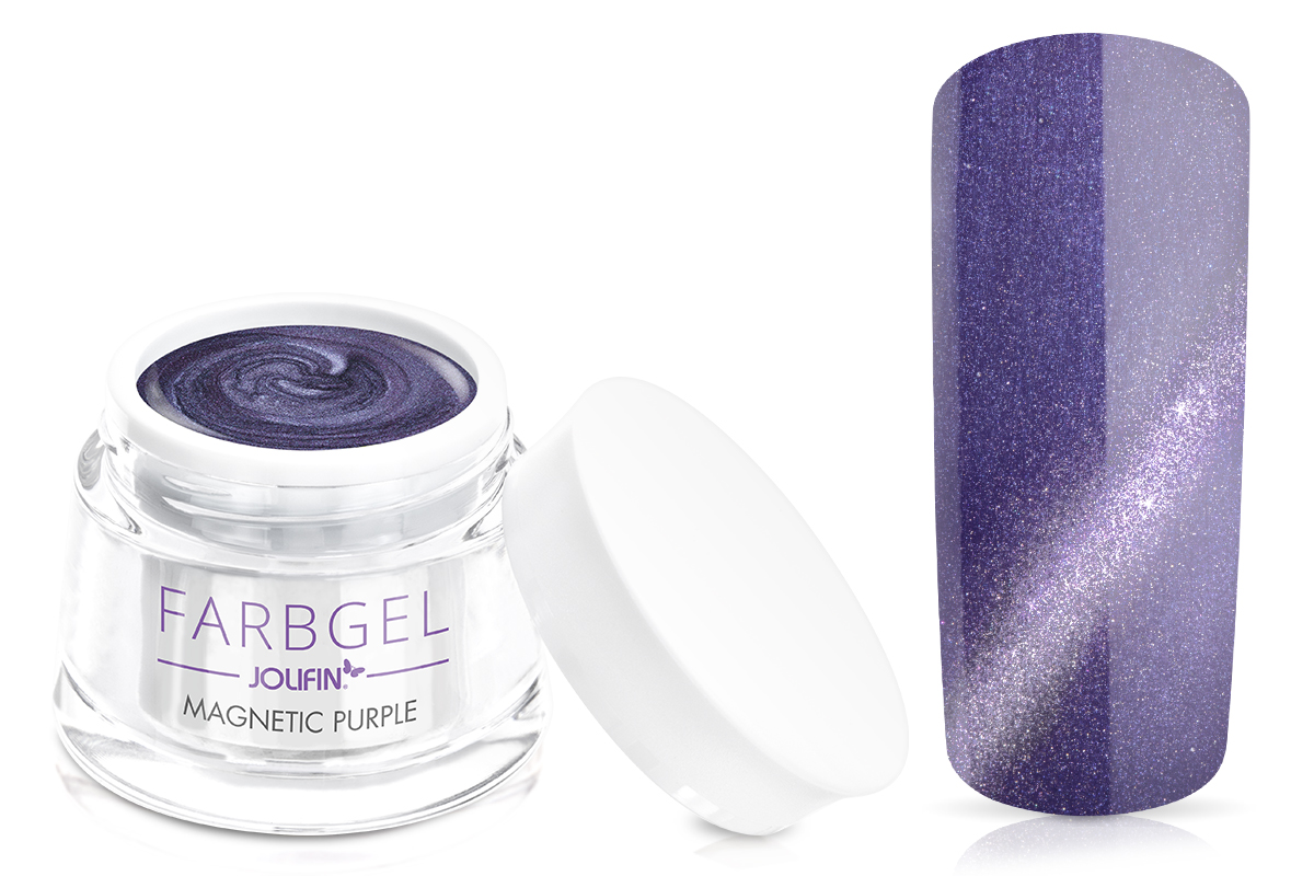Jolifin Farbgel 4plus magnetic purple 5ml