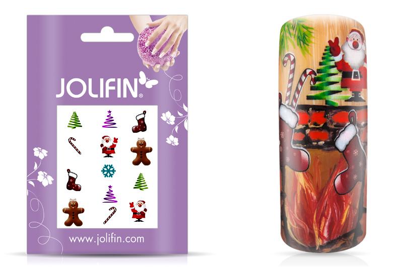 Jolifin Sweet Christmas Nailart Tattoo 4
